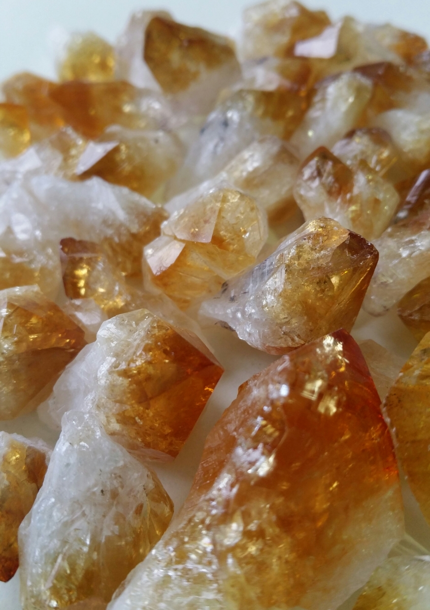 Heart of The Bay Byron Bay Citrine Crystal Cluster