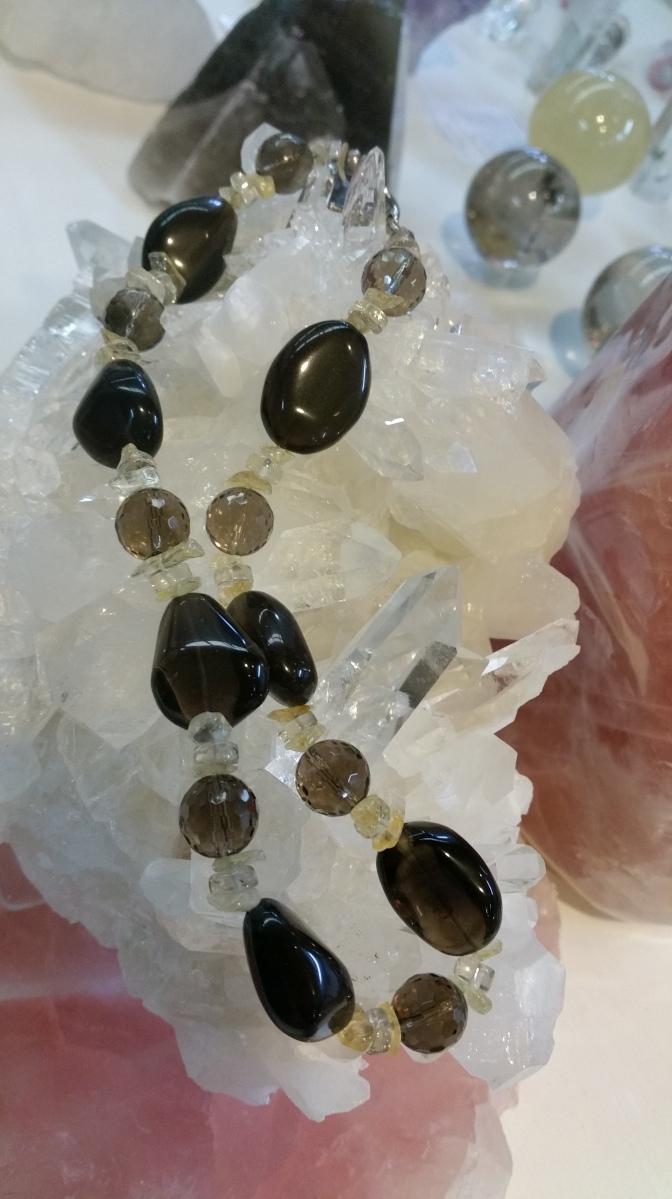 Smokey Quartz Jewellery - Heart of the Bay Crystals - Byron Bay