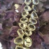 Jewellery cleansing on amethyst cluster at Heart of the Bay crystals Byron Bay