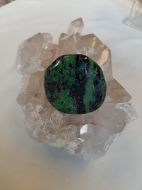Ruby Zoisite Heart of the Bay Crystals Byron Bay