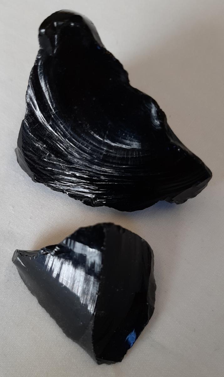 Black Obsidian - Heart of the Earth - Byron Bay Crystals