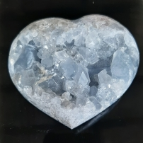 Celestite - Heart of the Bay - Byron Bay Crystals