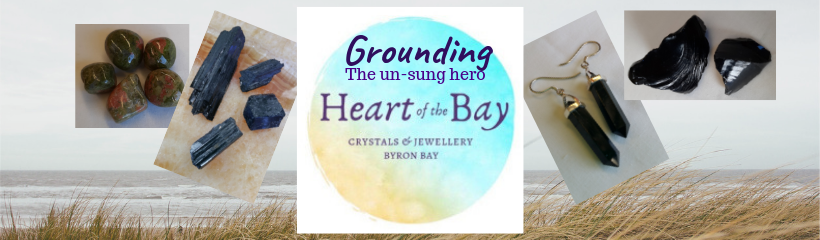 Grounding - Blog - Byron Bay Crystals - Heart of the Bay