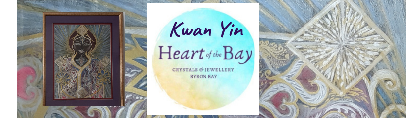 Kwan Yin - Heart of the Bay Crystals Byron Bay