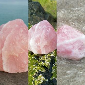 Rose Quartz - Heart of the Bay Crystals Byron Bay