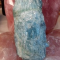 Aquamarine and rose quartz - Heart of the Bay - Byron Bay crystals