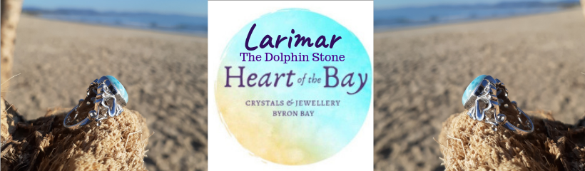 Larimar - Heart of the Bay - Byron Bay Crystals