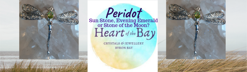 Peridot - Heart of the Bay -Byron Bay Crystals
