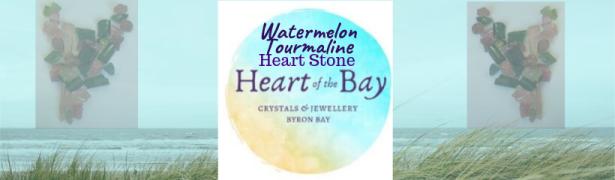 Watermelon Tourmaline _ Heart of the Bay Crystals Byron Bay