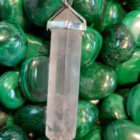 Heart of the Bay - Byron Bay Crystals - Rose Quartz Pendant