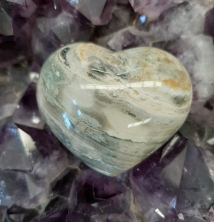 Ocean Jasper Crystal - Heart of the Bay - Byron Bay Crystals