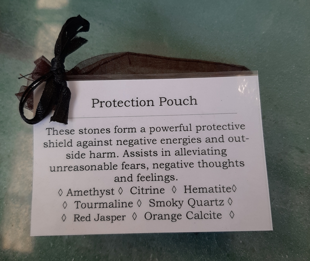 Crystals Protection Pouch - Heart of the Bay - Byron Bay Crystals