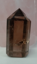 Smoky Quartz Generator Crystal - Heart of the Bay - Byron Bay Crystals