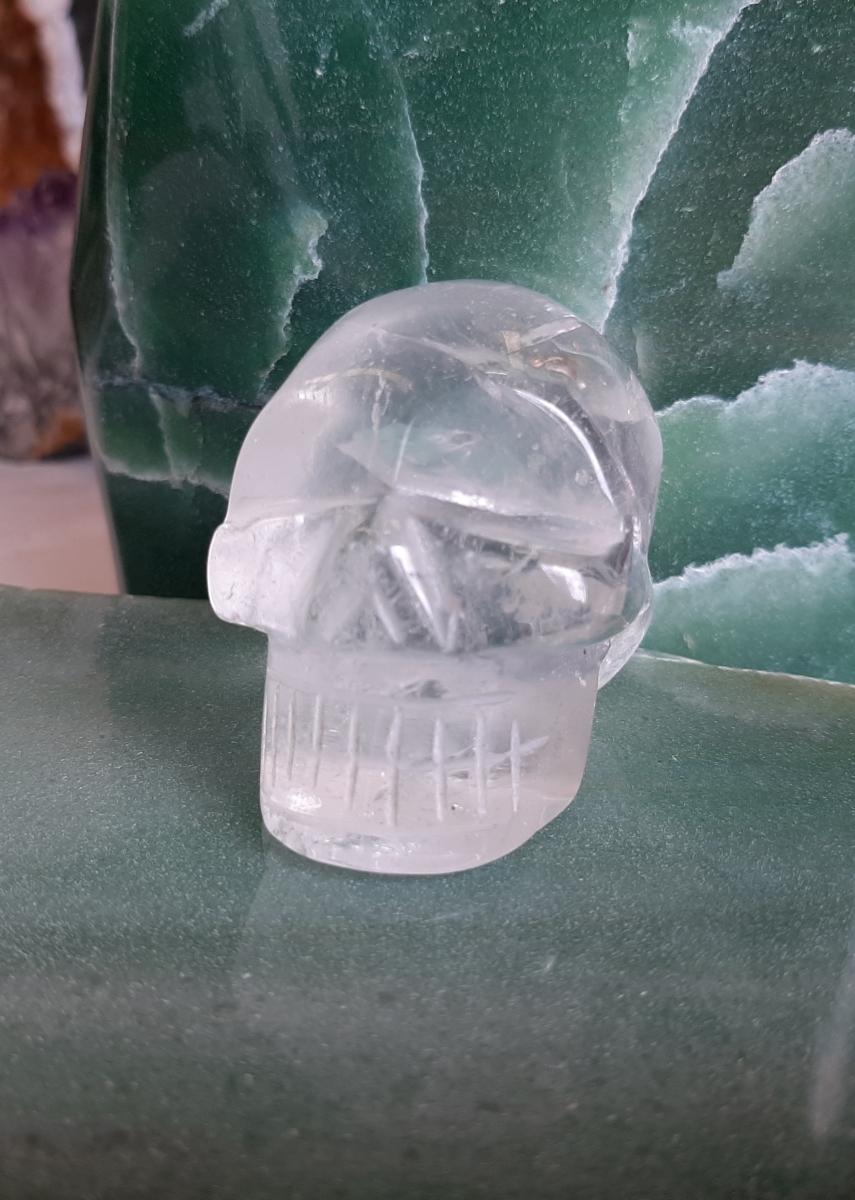 Rose Quartz Crystal Skull - Heart of the Bay - Byron Bay Crystals