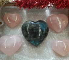 Labradorite Heart of the Bay - Byron Bay Crystals