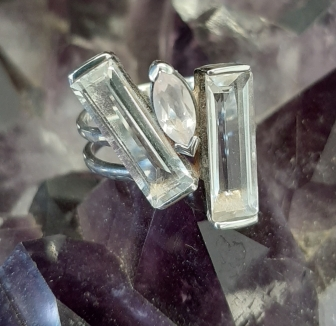 The perfect gift Two Bar Ring The Simple Things - to make your heart sing - Byron Bay Crystals - Heart of the Bay Blog