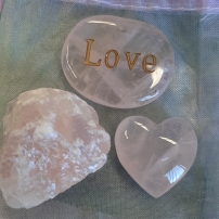 Amplify your goals - Align your intentions 2020 with Crystal Power Pouches- Love - Heart of the Bay - Byron Bay Crystals