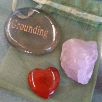 Amplify your goals - Align your intentions 2020 with Crystal Power Pouches- Grounding - Heart of the Bay - Byron Bay Crystals