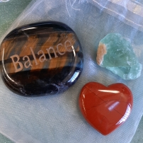 Amplify your goals - Align your intentions 2020 with Crystal Power Pouches- Balance - Heart of the Bay - Byron Bay Crystals