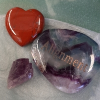Amplify your goals - Align your intentions 2020 with Crystal Power Pouches- Alignment - Heart of the Bay - Byron Bay Crystals20200103_112717