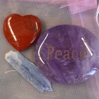 Amplify your goals - Align your intentions 2020 with Crystal Power Pouches- Peace - Heart of the Bay - Byron Bay Crystals