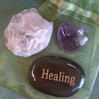 Amplify your goals - Align your intentions 2020 with Crystal Power Pouches - Haealing - Heart of the Bay - Byron Bay Crystals