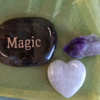Amplify your goals - Align your intentions 2020 with Crystal Power Pouches- Magic - Heart of the Bay - Byron Bay Crystals