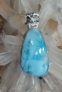 Larimar jewellery Heart of The Bay Crystals Byron Bay