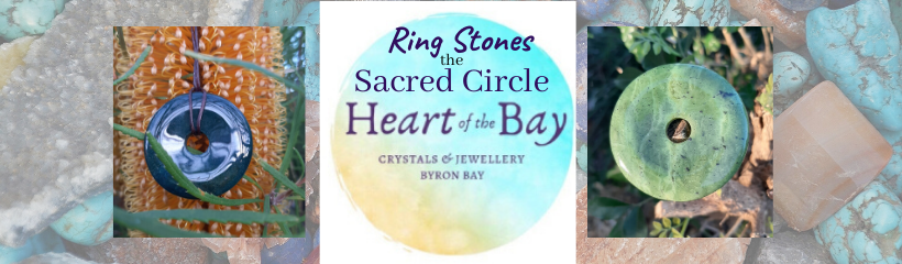 Ring stones the sacred circle Heart of the Bay Byron Bay Crystals