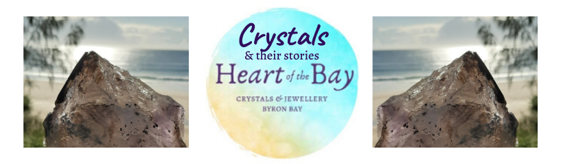 Byron Bay crystals Heart of the Bay - connect with crystals