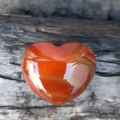 Carnelian Heart Crystals for the Solsitce - Byron Bay Crystals - Heart of the Bay