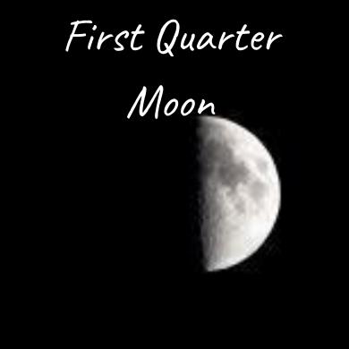 Waxing Crescent Moon (1)