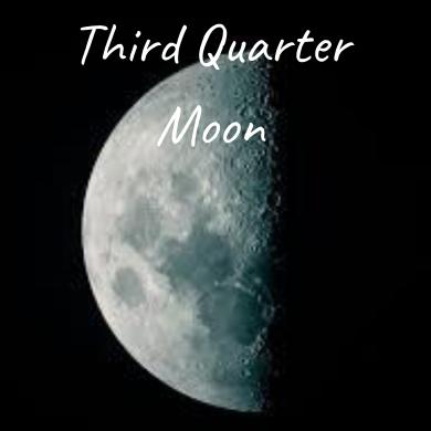 Waxing Crescent Moon (5)
