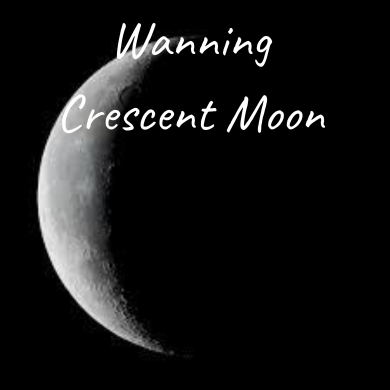 Waxing Crescent Moon (6)