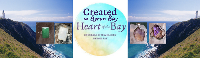 Created in Byron Bay - Byron Bay Crystals - Heart of the Bay