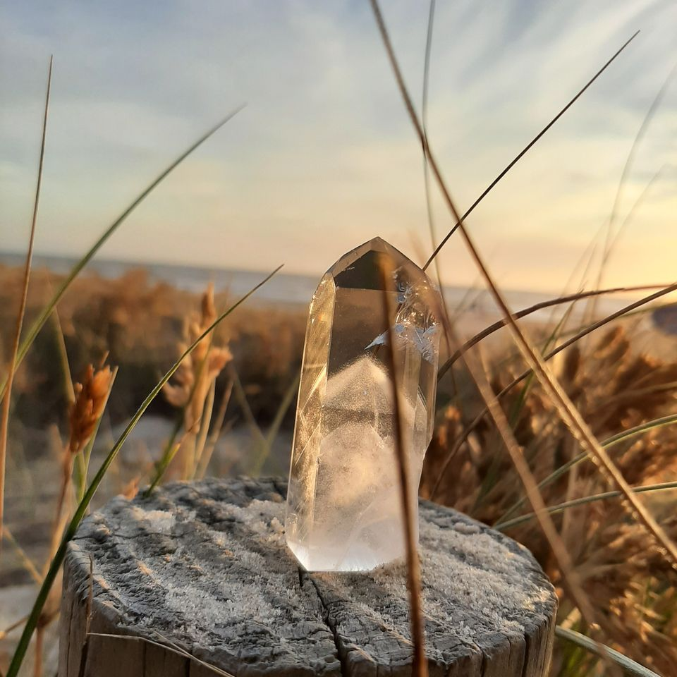 Clear Quartz Crystal Byron Bay Beach Goals 2021